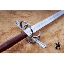 Espada Medieval Sabre Florete Estilo Seculo 16 Aco Carbono