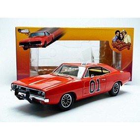 General Lee Dukes De Hazzard Auto World 1:18 Envio Gratis