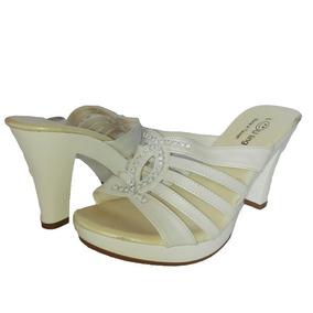 Zapato Vestir Mujer 36 Lou Ling Sandalia Taco Regalo Navidad