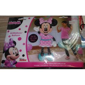 Globo Airwalker Minnie Mouse Vestido Rosa