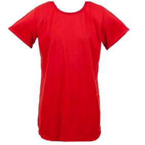 Camiseta Camisa Blusa Manga Curta Oversized Longline