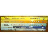 Lote X 5 Libros Para Adolescentes W.i.t.c.h De Disney