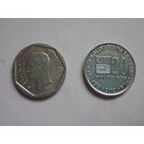 Monedas De Venezuela (20 Bolivares De 2002)