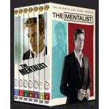 Box The Mentalist 1ª Á 7ª Temporada Dublado (33 Discos)