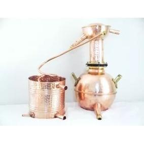 Destilador 20 Litros Em Cobre Cachacas Essencias Whisky