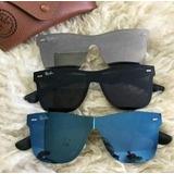 Oculos;sol;importado;ray;ban;blaze Unisex Clubmaster