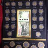 Albunes De Monedas Y Billetes Conmemorativos De 5,10 Y 20