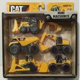 Mini Maquinas Cat Pack X5 Unidades Caterpillar Construccion