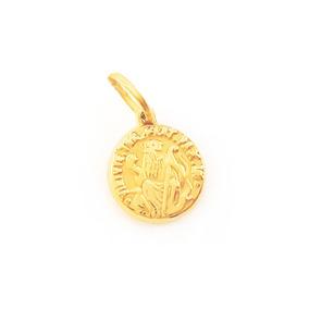Dourado Jóias Medalha De Ouro São Bento 2,2g (sentado) - Joias e ... 98d1377e15