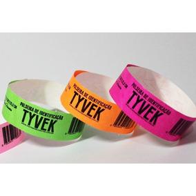 Pulseiras Para Eventos Kit 3.000 - Tyvek - Personalizadas
