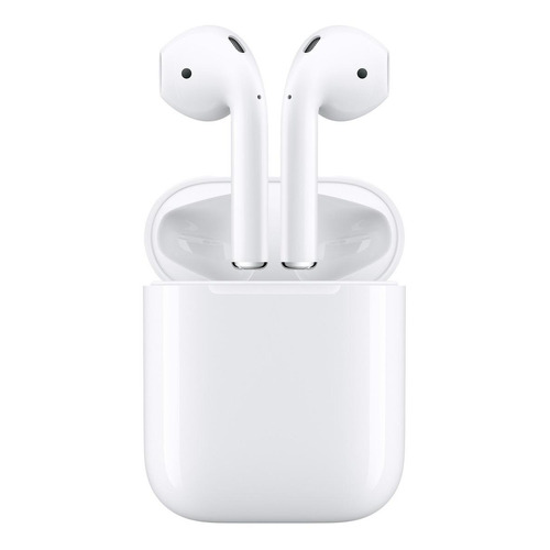 Fone de ouvido sem fio Apple Airpods with Charging Case (1st Generation) branco