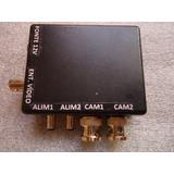 Duplicador De Câmeras Sequencial 2 Câmeras Em Um Único Cabo