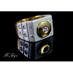 ad9a853d00bb Anillo Hombre Plata Oro - Joyas y Relojes en Mercado Libre México