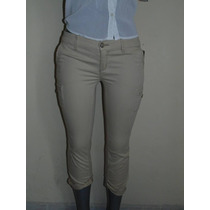 Pantalones Hollister Co. Cropped 27-28 Stretch Orig.