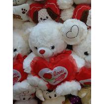 Paquete Peluche Fino 40 Cm San Valentín Amor Mayoreo