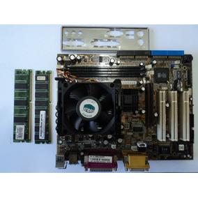 Asus Off-board Pci P4s333-m + Pentium 4 1,6 Ghz Funcionando
