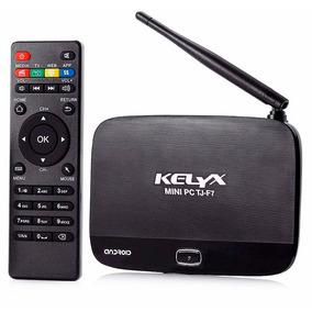 Smart Tv Box Android Kelyx Quad Core Hdmi Wifi 1080p Netflix