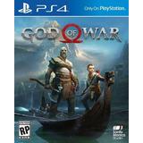 God Of War Ps4 Entrega Inmediata