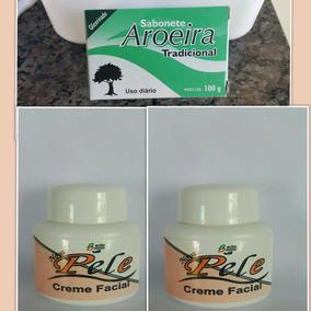 2 Unid. Creme Nova Pele + 1 Unid. Sabonete De Aroeira
