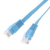 Cable De 10m/32,80 Ft Cat6 Ethernet Cable Plano Rj45 Pc Lan
