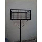 Canasto Cesto De Residuos/ Basura 60x40x30 1,60 De Alto