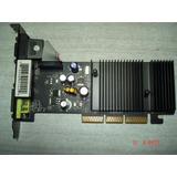 Tarjeta De Video Agp 512mb Ddr2 Nvidia 6200 Como Nuevo