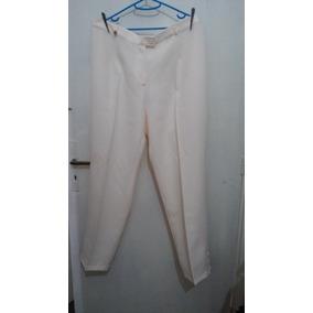 Pantalón De La Calesa T54 Color Crudo Sin Uso Miralo!!