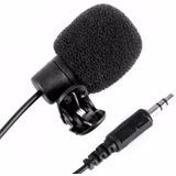 Microfone De Lapela P2 Para Cameras, Notebooks, Computador