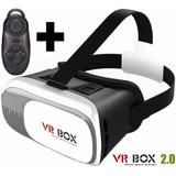 Lentes Realidad Virtual Aumentada Vr Box 2.0 + Control Bt ®
