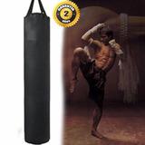 Saco Mma Muay Thai Kick Boxing 1,80 Mt. Alto 2 Años Garantía