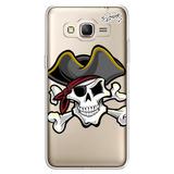 Capa Case Capinha Samsung J3 - Piratas 1