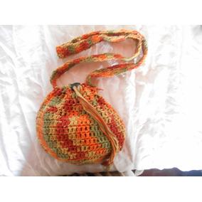 Bolsito Estilo Bandolera. Crochet