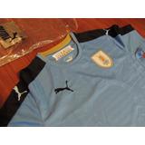 Camiseta Uruguay Puma Original Actual Talle S Nueva C Bolsa