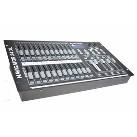Consola Dmx Navigator 24xl American Pro 48 Canales Luces Dj