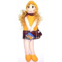 Muñeca De Trapo Flaca Grande Tipo Betty Espaguetti Colores