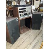 Antiguo Equipo De Sonido A Reparar National Panasonic #0978