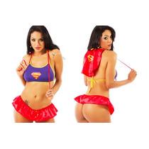 Mini Fantasia Sensual Super Girl Ps Sexy Erótica
