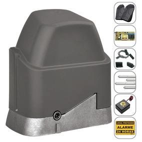 Kit Motor De Portão Eletrônico Deslizante Ppa Dz 1/4+ Tx Car