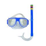 Kit Máscara De Mergulho Com Snorkel - Art Sport