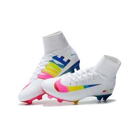 Chuteira Nike Mercurial Superfly Colorida Campo - Chuteiras no ... 210b88b19e397
