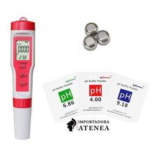 Medidor Digital De Ph Ec Tds Temperatura 4 En 1 Profesional