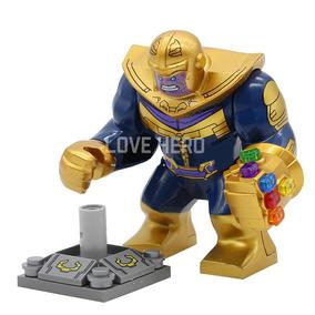 Boneco Thanos Com Manopla Avengers Compativel Lego
