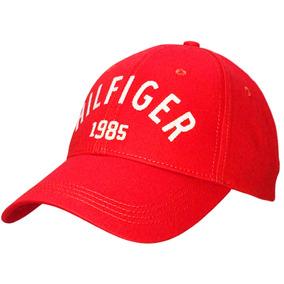Boné Tommy Hilfiger Lançamento Importado 1985 - Vermelho