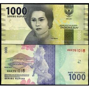 Indonesia 1000 Rupias Un Billete Nuevo Sin Circular