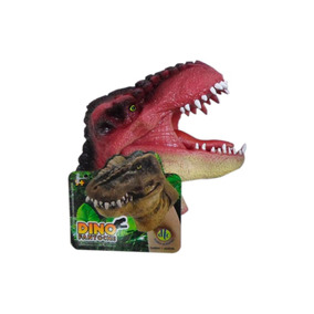 Fantoche Dinossauro T- Rex - Vermelho - Dtc