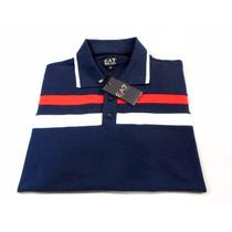 Camisa Pólo E A 7 - Giorgio Armani Masculino - Original