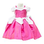 Vestido Bella Durmiente Princesa Aurora Disfraz