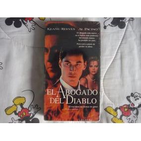 El Abogado Del Diablo Vhs Warner Bros 1997 Nuevo Y Sellado