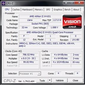 Proc (socket Fm1) Amd Athlon Ii X4 651 Quad Core 4m/3.0ghz
