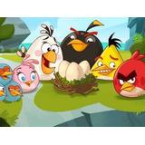 Painel Decorativo Festa Angry Birds [2x1,5m] (mod3)